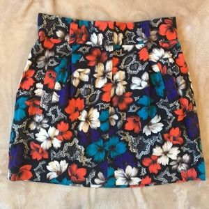Dresses & Skirts - Floral Cotton Skirt